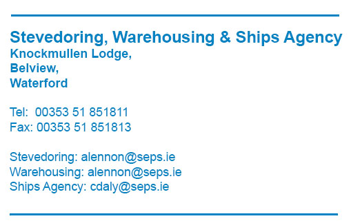 Stevedoring, Warehousing and Ships Agecy - www.seps.ie